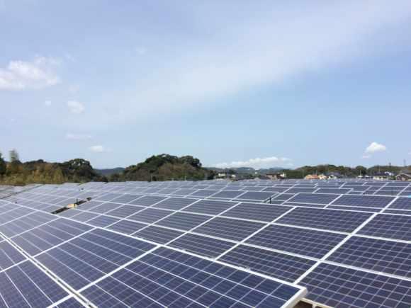 福岡県田川郡A 720kw 売電開始しました。